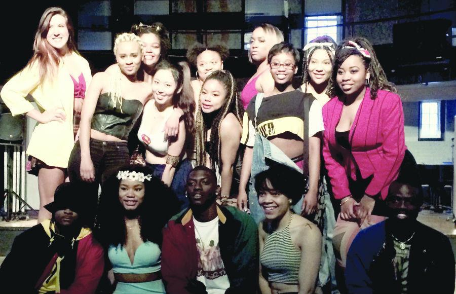 Participants+of+the+POCU+Fashion+Show+show+off+their+fashion+ensembles.