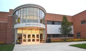 Lou Higgins Recreation Center, Upsprung Gym Entrance