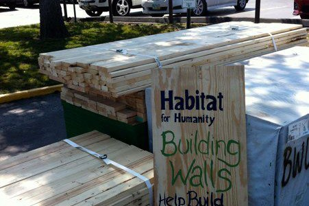 Habitat for Humanity Builds Walls, Builds Hope
