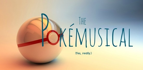 Office Logo for the Pokemusical at the Hollywood Fringe Festivl