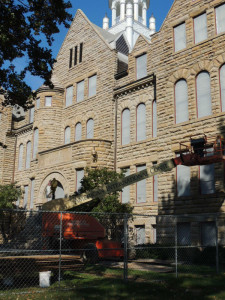 More views of the Marting Hall restoration.