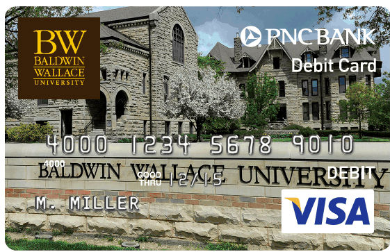 Sample of the Stinger Debit Card.