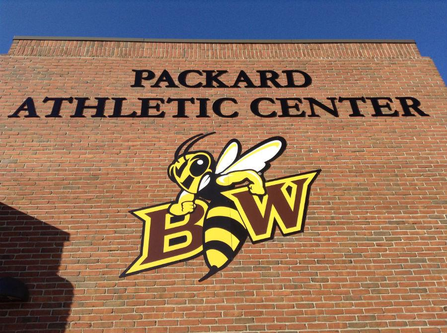 Baldwin Wallace University's newly renovated Packard Athletic Center, named in honor of former BW football coach Robert D. Packard.