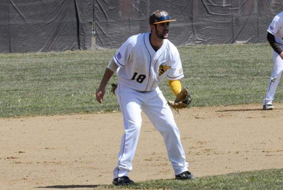 Senior third baseman Brad Gugliotta is batting .441 with 12 RBI this season.