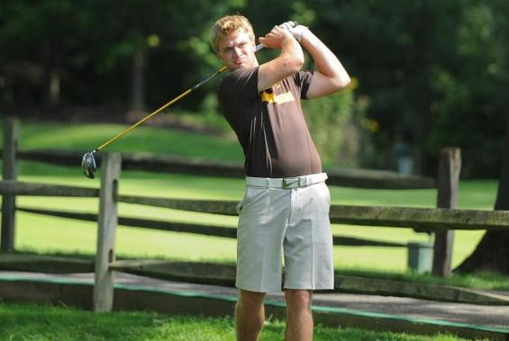 Senior Augie Ward carded an 84 at the OAC Conference Tournament on Sunday, April 27.