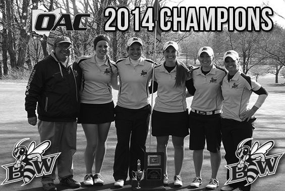 The Baldwin Wallace women's golf team won its third OAC title in the last four years.