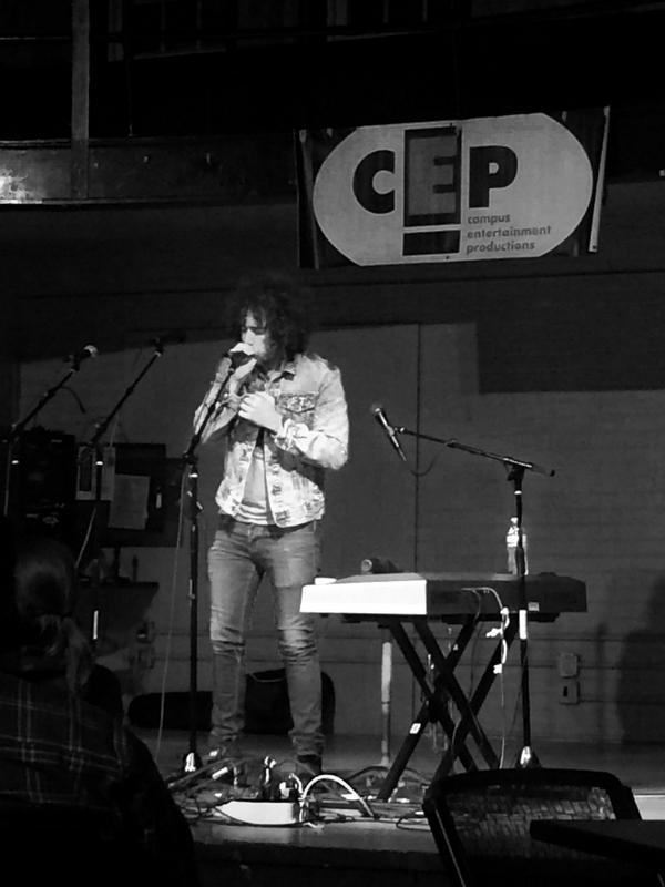 Independent singer-songwriter and rising talent, Ari Herstand, took to the stage, performing for  BW students in the SAC for a Campus Enterainment Productions-hosted concert.