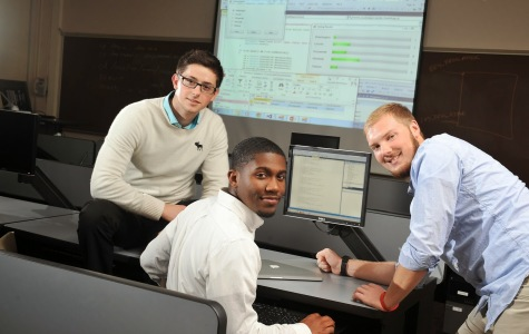 Three BW Students Make Real World 'Connection'