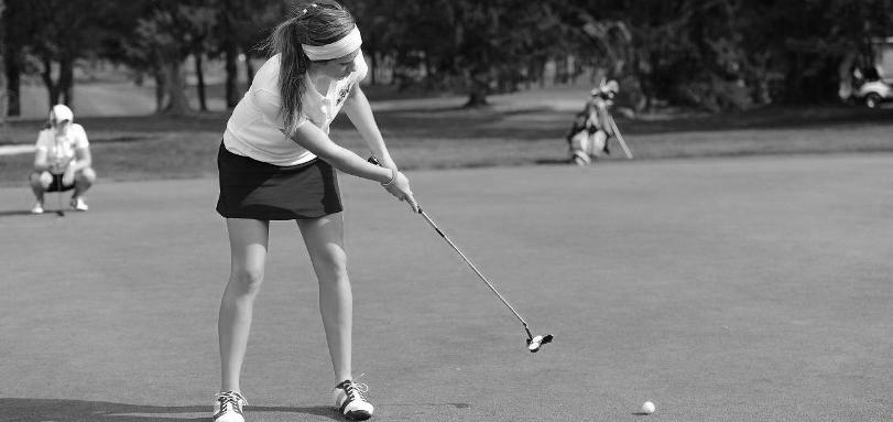 Junior All-OAC golfer Laura Vidmar shot rounds of 89 and 92 for Baldwin Wallace women's golf team.