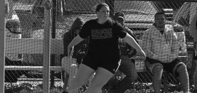 Sophomore+thrower+Kasey+Clouse+helped+lead+the+Baldwin+Wallace+Women%E2%80%99s+Track+team+to+a+record+setting+day.++%0D%0A