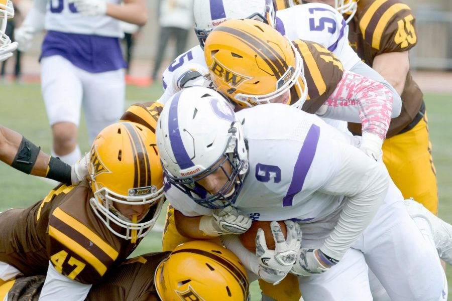 Football's postseason hopes take hit with loss