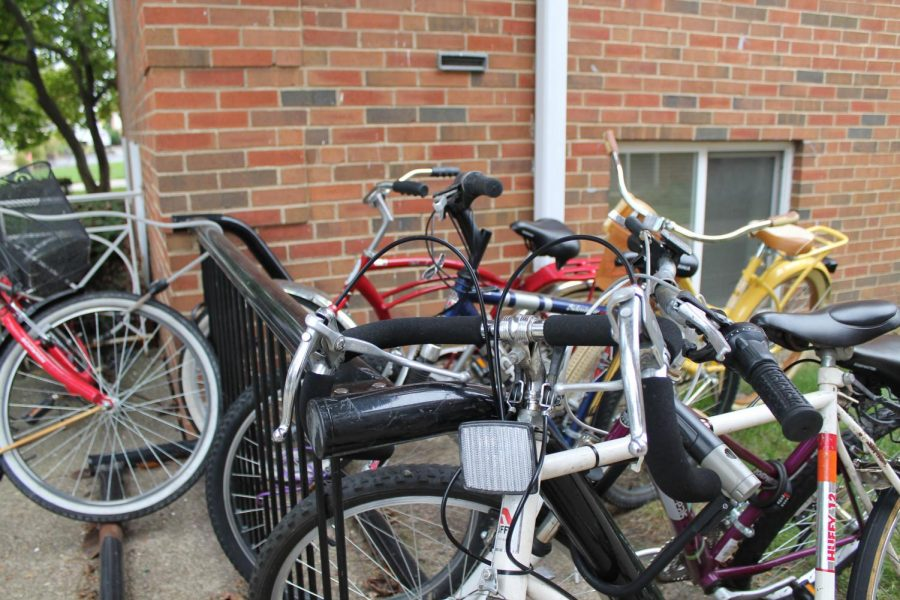 Lock  n' Roll: Precaution, and a good lock, can often prevent bike thefts