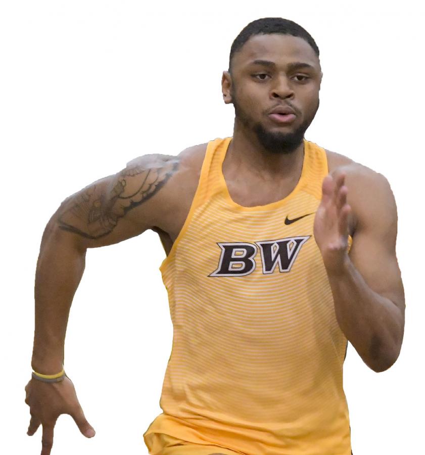 Leverette twice sprints into record books