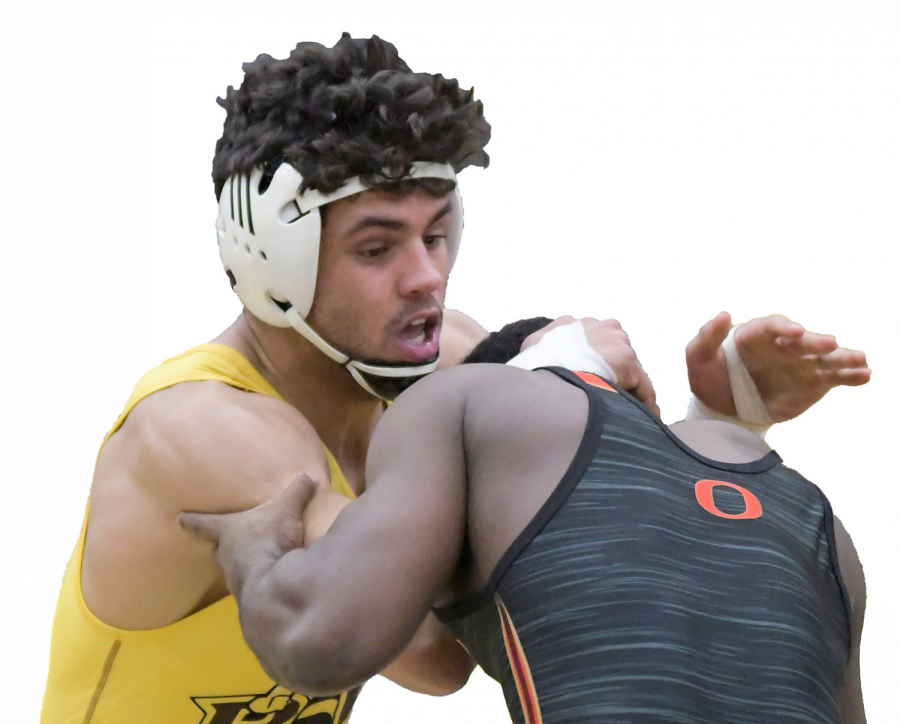 Wrestling seeking third straight championship