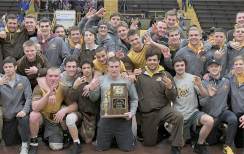 Wrestling wins third straight OAC Championship