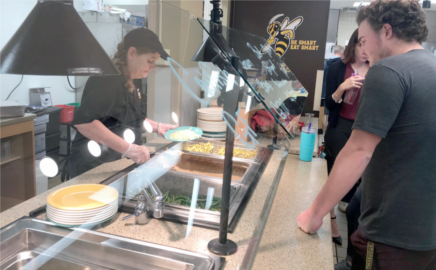 Changes to the meal plan for this year have resulted in an adjustment period for students and members of the dining services staff.