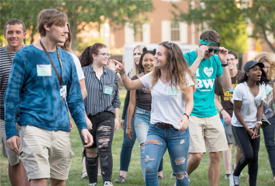 The majority of the 680 freshmen this year are composed of liberal arts students, with 73 students entering the Conservatory of Music.