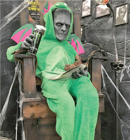 The Frankenstein Festival includes displays in Ritter Library, a variety of lectures and