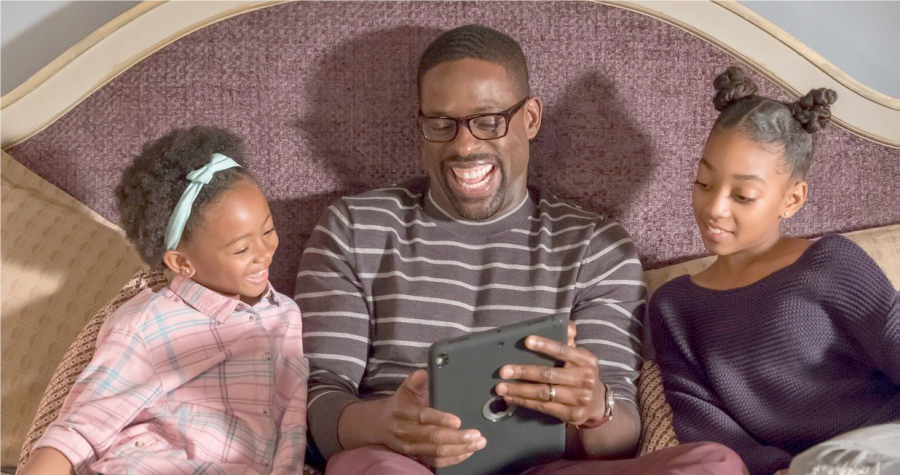 "Sterling K. Brown plays Randall Pearson in the NBC hit show ""This is Us."" Brown has