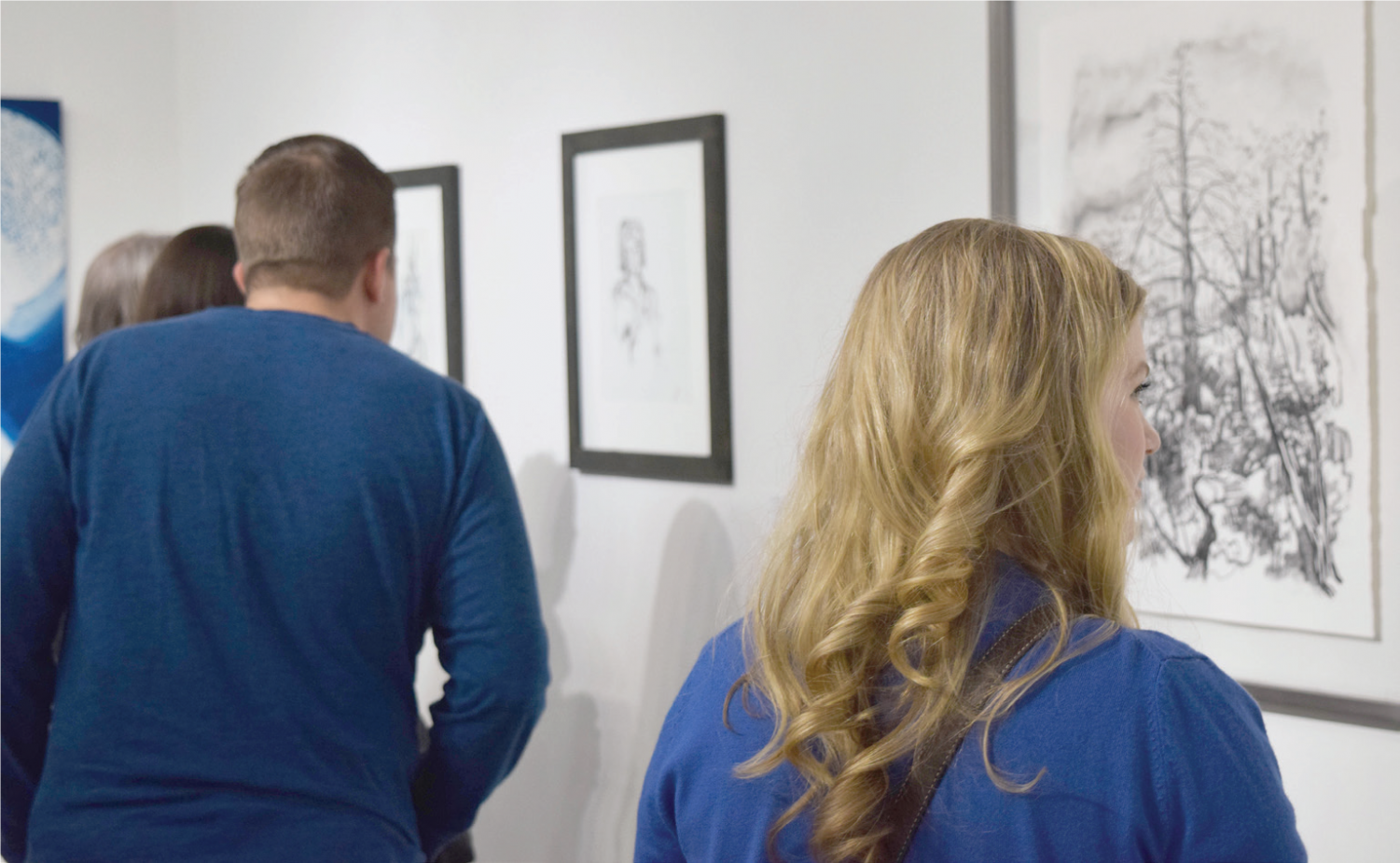 Each year, alumni from the art department return to Baldwin Wallace to share their work. This year's show runs through Oct. 26 in Fawick Gallery in Kleist.