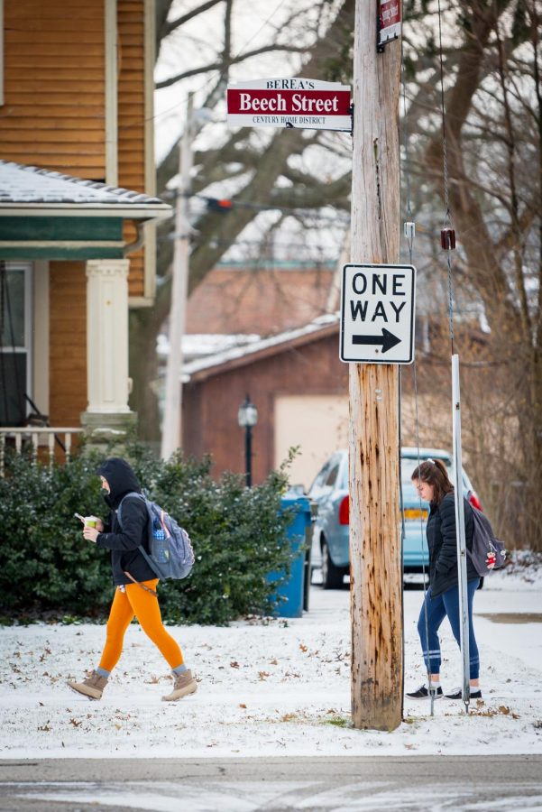 Private Homes between North, South campuses complicate snow removal