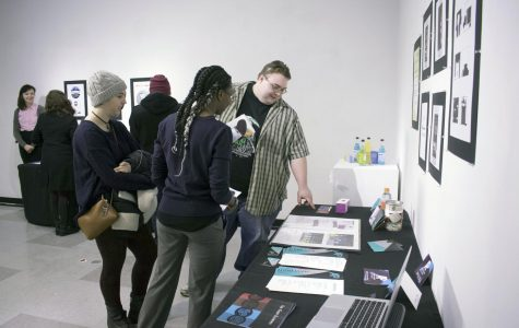 Graphic design senior show 'Metamorphic' displays change and growth in seven students