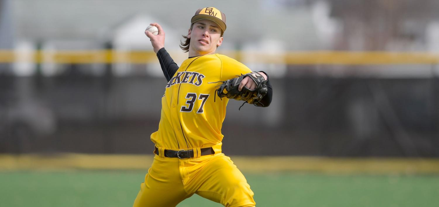 Nick Smith (above), Danny Cody, and Spencer Aukerman have a paltry 1.57 ERA in 63 innings pitched.
