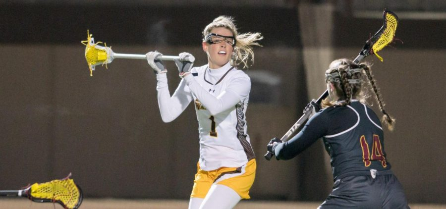 Junior Brie Martineau leads the Jackets in points through eight games this season.