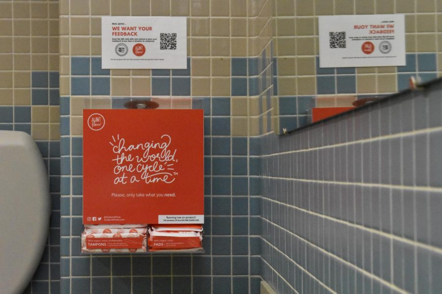 Initiative brings free hygiene products to campus