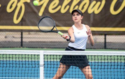 Tennis looks ahead as fall ends