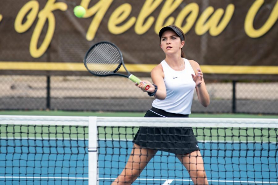 Tennis looks ahead as fall ends